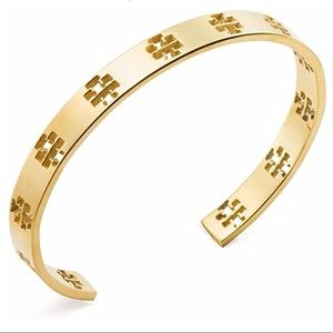 Tory Burch pierces T cuff bracelet